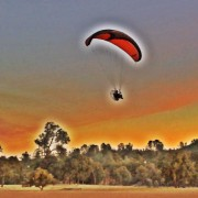 Paragliding in California