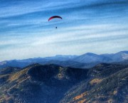 Paragliding over The Big Mtn Whitefish