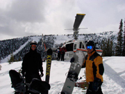 Heli skiing Golden British Columbia