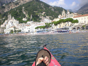 Sea Kayaking the Amalfi coast Italy